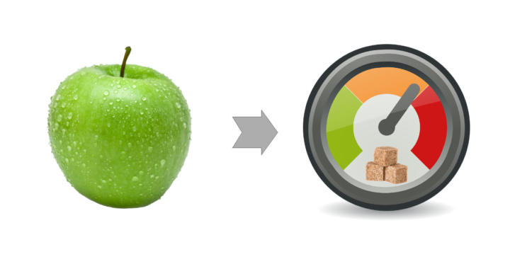 Содержание углеводов в овощах и фруктах